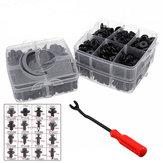 620 Pcs 16 Tailles Clip Garniture Voiture Installer Pousser Rivet Porte De Protection pare-chocs Fixation Attache