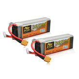 2Pcs ZOP Power 14.8V 3500mAh 4S 60C Lipo Battery XT60 Plug For RC Airplane