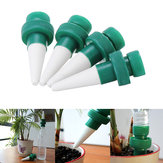 4Pcs/Set Plant Water Dripper Dispenser Garden Automatic Water Flow Droppers Water Bottle Drip Irrigation Watering System Kits
