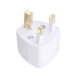 Universal to UK British Standard Adapter Portable Power Adapter Plug Converter Socket Mini For Phone/Computer/Camera