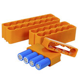 18650 Batería Accesorio para paquete de soldadora por puntos Accesorio fijo para soldadura por puntos de doble cara de una sola fila para litio Batería Paquete Soldadura