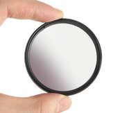 Grad Gradient Gray Lens Filter 49/52/55/58/62/67/72 / 77mm para Canon para Nikon DSLR Camera