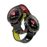 Bakeey L8 Tela de toque completa ECG + PPG O2 IP68 Modo esportivo bluetooth Controle de música Tempo Relógio inteligente