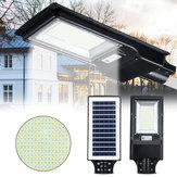 966/492 LED Solar Street Light Motion Sensor Outdoor Wall Lamp+Remote