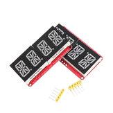4-bitowy Pozidriv 0,54-calowy, 14-segmentowy, cyfrowy moduł świetlny z diodami LED, czerwony / zielony I2C Sterowanie 2-liniowy moduł sterujący z wyświetlaczem LED