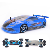 ZD Racing Pirates3 TC-10 1/10 2.4G 4WD 60 km / u RC auto elektrische borstelloze touringvoertuigen RTR-model