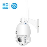 Besder 30XB HD1080P 30X Zoom PTZ Auto Focus Waterproof Wireless IP Camera Full Color Night Vision M-otion Detection Baby Monitors
