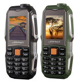 JiMei 1.8Inch 2800mAh Power Pank Torch Big Speaker Big Screen Long Standby Dual SIM Card Rugged Feature Phone