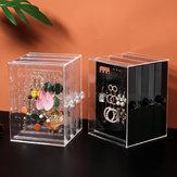 Sieradenstandaard Stofdicht Oorbellen Houder Sieraden Displayrek Organizer Box