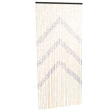 90x180cm Bamboo Wooden Door Curtains Blinds Fly Bug Screen Decoration Room Divider