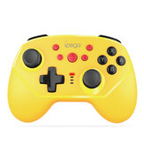 iPega PG-9162Y Mini bluetooth Six-Axis Vibration Gamepad for Nintendo Switch Console Wireless Wired Dual Connections Game Controller