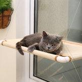Coussin de soleil de lit de perche de hamac de siège durable de chat d'animal familier monté par fenêtre