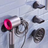 Montagem na parede da cremalheira do armazenamento do suporte do suporte do secador de cabelo para o secador de cabelo de Dyson