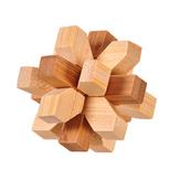 3D Interlocking Puzzles Spiel Spielzeug Puzzle Spielzeug Bambus Kleine Größe für Erwachsene Kinder IQ Brain Teaser Kong Ming Lock