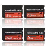 4 8 16 32GB Memory Stick MS Pro Duo Memory Card pour Sony PSP Cybershot Camera
