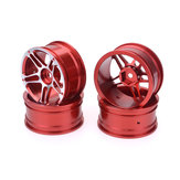 Aluminium Alloy 1.9inch Rc Car Wheel Hubs For 1/10 Drift Car Crawler Truck Axial Scx10 Trx4 Trx4 D9 Hsp Hpi Team Losi Hongnor Kyosho Tamiya LRP