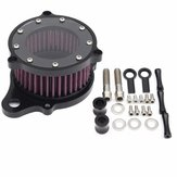 Motor Air Cleaner Intake Filter System Aluminum For Harley-Davidson Sports XL 883 1200 2004 2005 2006 2007 2008 2009 2010 2011 2012 2013 2014 2015