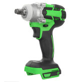 520N.M Torque Brushless Impact Wrench Screwdriver Cordless Rechargable Electric Wrench Driver Tool Stepless Speed Change Switch Adapted to 18V Makita battery