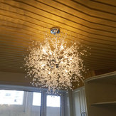 Decorazioni per la casa moderne LED Lampadario a fuochi d'artificio a sospensione a sospensione