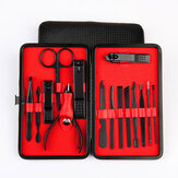 7/15 STKS Rvs Nagelknipper Cutter Trimmer Portable Ear Pick Grooming Kit Set