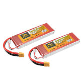 2Pcs ZOP Power 7.4V 6000mAh 45C 2S Lipo Battery XT60 Plug For Rc Racing Car
