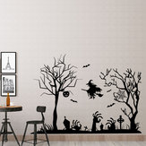 Miico FX3002 Cartoon Sticker Muursticker Halloween Sticker Afneembare muursticker Kamerdecoratie
