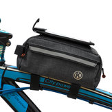 Bicycle Front Beam Storage Bag Mobile Phone Bag Large Capacity Mountain Bike Bag Multifunctional Tool Bag