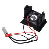 ESC Heat Sink With Cooling Fan For 1/10 TRX4 RC Car Parts