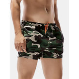 Mens Summer Fashion Camo schnell trocknende Strand Shorts Surf Badehose