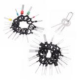 41PCS Presa per estrazione terminale per cablaggio cablaggio scheda circuito auto Spina Connettore Pin per crimpatura Strumento di rimozione dell'ago posteriore