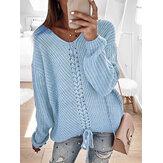 Женские повседневные свитера с длинным рукавом P-Color