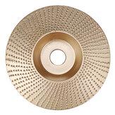 Drillpro 110мм Карбид вольфрама Диск для формовки дерева Резьбовой диск 16мм Шлифовальная машина для шлифования 100 мм Угловая шлифовальная машин