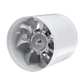 40W 6Inch Inline Duct Fan Booster 150mm Exhaust Blower Air Cooling Vent εξαερισμός ανεμιστήρας 1080m³ / h
