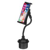 Supporto universale per tablet Stand Holder con supporto per tazza da auto flessibile a braccio lungo regolabile da 21 cm a 360 gradi