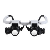 Headband Head-Mounted Repair LED Lampe Loupe Loupe Loupe Loupe