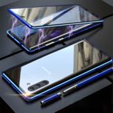 Bakeey 360º Cuerpo entero Adsorción magnética Aleación de aluminio Vidrio templado Protector Caso Para Samsung Galaxy Note 10 / Note 10 5G