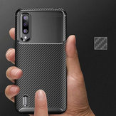For Xiaomi Mi9 Lite / Xiaomi Mi CC9 Carbon Fiber Shockproof Silicone Protective Case