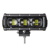 9 Inch 30W LED Work Light Bars 9D Lens Single Row 6000K 9-32V For Off Road 4WD Trucks SUV ATV Trailer Motorcycle