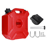 5L Fuel Tank Portable Jerry Can Gas Petrol With Bracket Lock For ATV UTV Motorcycle Car Gokart