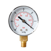 TS-Y50Z-1-0bar -30/0psi 52mm Dial 1/8 BSPT Pressure Gauge