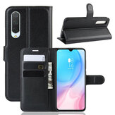 Bakeey Litchi Pattern Shockproof Flip with Card Slot Magnetic PU Leather Full Body Protective Case for Xiaomi Mi A3 / Xiaomi Mi CC9e Non-original