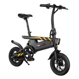 [EU Direct] Ziyoujiguang T18S 36V 250W 7.8AH Folding Electric Bike 12 Inches 25km/h Top Speed 30-35km Mileage Intelligent Variable Speed System Max. Bearing 120kg