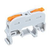 20pcs SPL-1 PCT-211 Rail Type Quick Connection Terminal Press Type Connector Instead Of UK2.5B Terminal Block