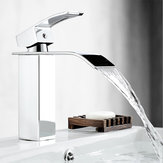 Bathroom Sink Faucet Basin Single Handle Mixer Tap W/Cover Plate Brushed Nickel