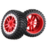 2PCS Remo Hobby RP2046 Tires Wheel Rims for 1021 1025 8025 8051 8055 8081 8085 RC Car