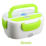 Portable 1.1L Car Electric Heating Lunch Box Storage Container Food Warm Heater US EU Plug