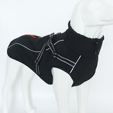 Waterproof Dog Jacket Reflective Large Clothes Coats Winter Warm Outdoor Suit