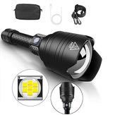 XANES® X915 P10 Linterna con zoom telescópico 4 modos Impermeable Con 18650 Batería Luz de antorcha