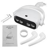 25000LM 22mm 12 V-24 V LED Lampe Orale Soins Des Dents Induction Lumière Unité Dentaire Chaise Accessoires