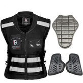 Ghost Racing Moto Chaleco de equitación Rally Suit Safety Protection Chaqueta reflectante para Harley